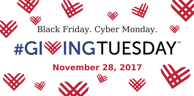 #GivingTuesday Nov., 28 2017